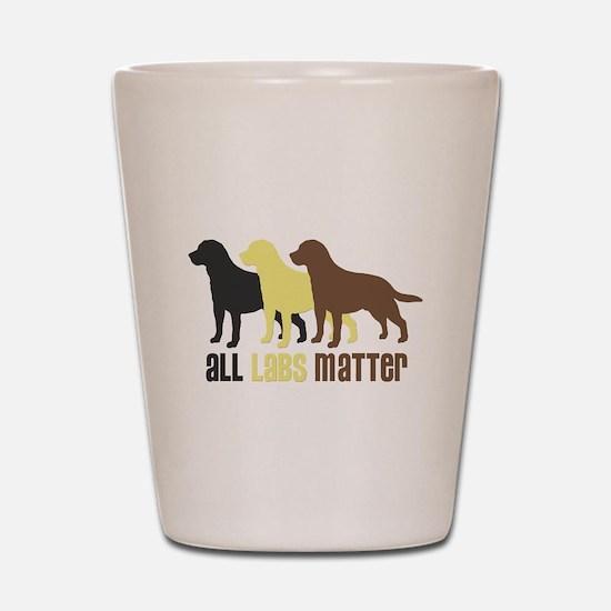 All Labs Matter Shot Glass