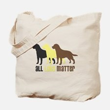 All Labs Matter Tote Bag