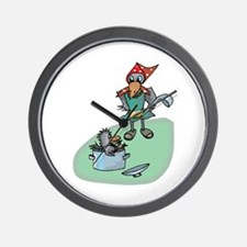 Magpie Soup Wall Clock