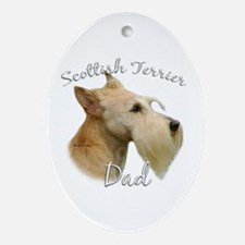 Scotty Dad2 Oval Ornament