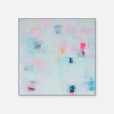 """Funny Contemporary art Square Sticker 3"""" x 3"""""""