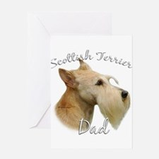 Scotty Dad2 Greeting Card