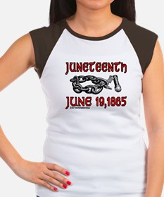 """June19, 1865"" Women's Cap Sleeve T-Shir"