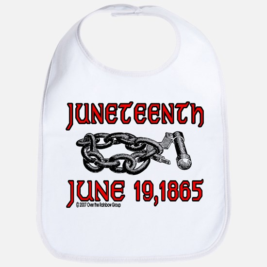 """June19, 1865"" Bib"
