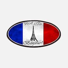 PARIS FRANCE FLAG EIFFEL TOWER Patch