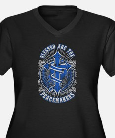Thin Blue Line Peacemakers Plus Size T-Shirt