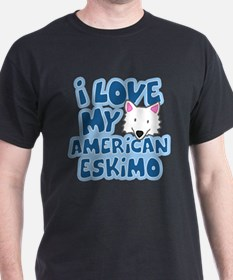 I Love my American Eskimo T-Shirt