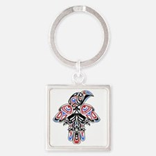 Cute British columbia Square Keychain