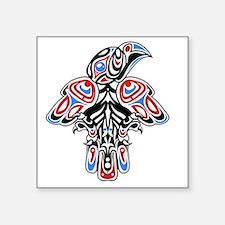 "Unique British columbia Square Sticker 3"" x 3"""