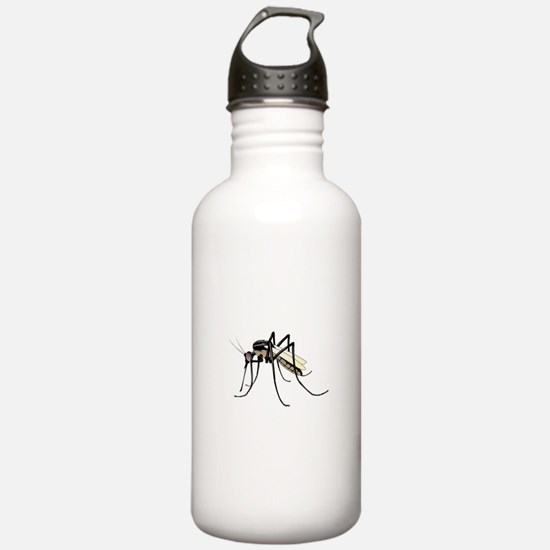 Brown mosquito Water Bottle