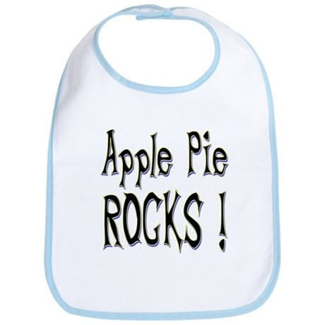 Apple Pie Rocks ! Bib