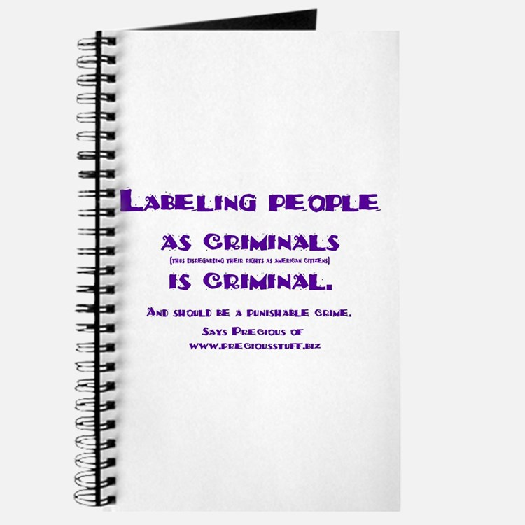 Labeling is criminal Journal