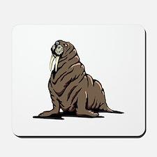 Walrus sitting Mousepad