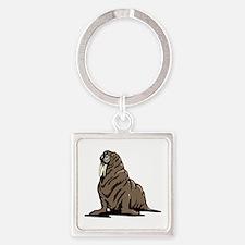 Walrus sitting Keychains