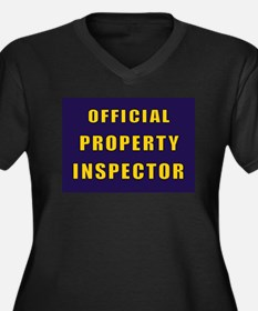 OFFICIAL PROPERTY INSPECTOR Plus Size T-Shirt