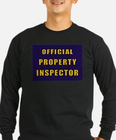OFFICIAL PROPERTY INSPECTOR Long Sleeve T-Shirt