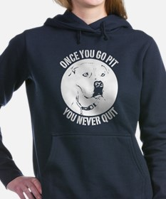 Once You Go Pit Women's Hooded Sweatshirt