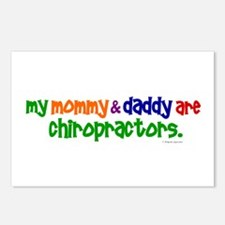 My Mommy & Daddy Are Chiropractors (PR) Postcards