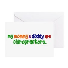 My Mommy & Daddy Are Chiropractors (PR) Greeting C
