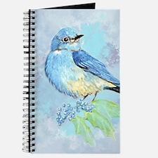 Watercolor Bluebird Blue Bird Art Journal