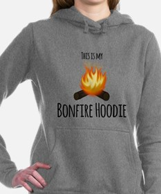 Cool Bonfire Women's Hooded Sweatshirt