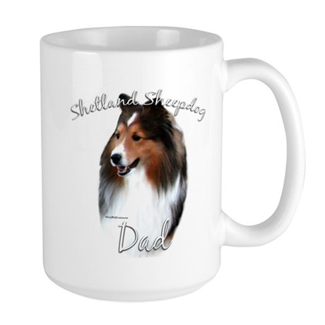 Sheltie Dad2 Large Mug