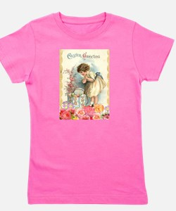 victorian easter Girl's Tee