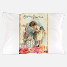 victorian easter Pillow Case