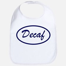 Decaf Name Patch Baby Bib