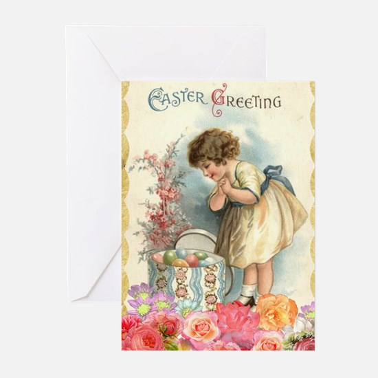 victorian easter Greeting Cards