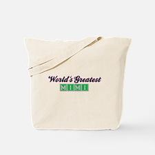 World's Greatest Mimi (2) Tote Bag