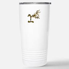 Road Runner Fox cartoon Stainless Steel Travel Mug