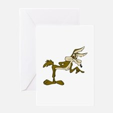 Road Runner Fox cartoon Greeting Cards
