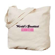 World's Greatest Mimi (1) Tote Bag