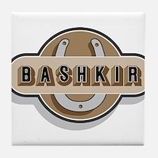 Bashkir Curly Horse Tile Coaster