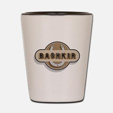 Bashkir Curly Horse Shot Glass