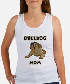 Unique English bulldog mom Women's Tank Top