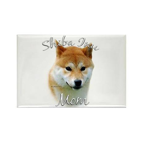 Shiba Mom2 Rectangle Magnet