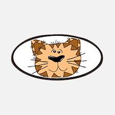 Cartoon Cat Face Patch