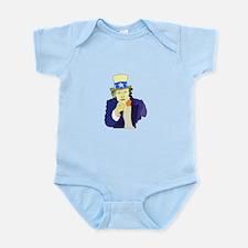 Creepy Uncle Sam Body Suit