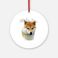 Shiba Dad2 Ornament (Round)