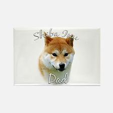 Shiba Dad2 Rectangle Magnet