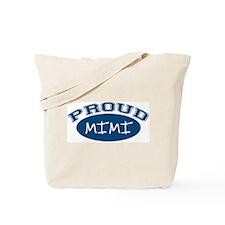 Proud Mimi (blue) Tote Bag