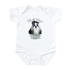 Shih Tzu Mom2 Infant Bodysuit