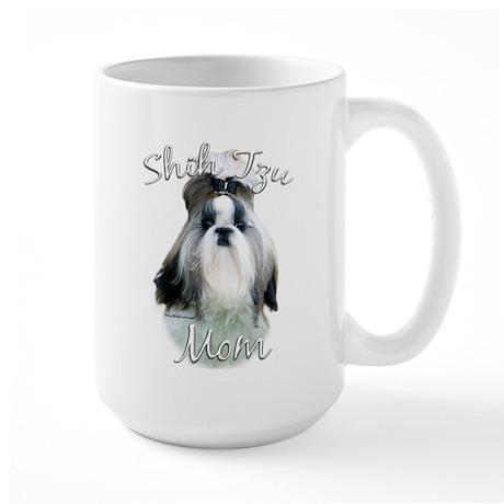Shih Tzu Mom2 Large Mug