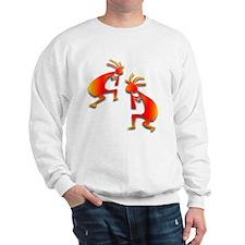 Two Kokopelli #6 Sweatshirt
