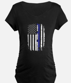 The Thin Blue Line Maternity T-Shirt