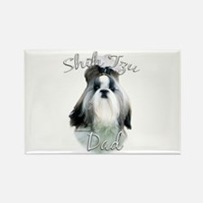 Shih Tzu Dad2 Rectangle Magnet