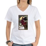 Halloween Womens V-Neck T-shirts
