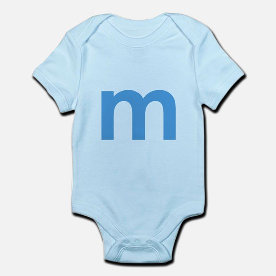 lowercase letter Body Suit